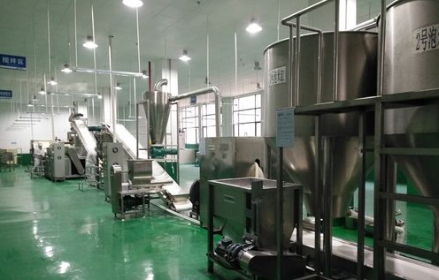 Full automatic rice cake production line